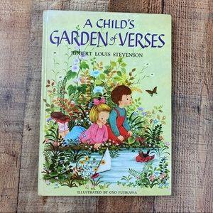 A Child's Garden of Verses Hardcover Book
